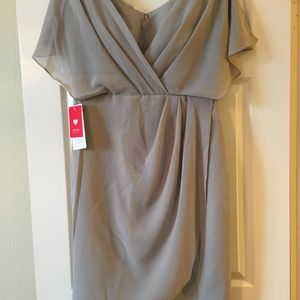 Silver brand new special occasion dress